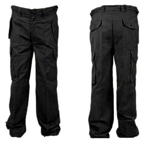Hero Brand Canadian Armed Forces Style BDU Pants -Black