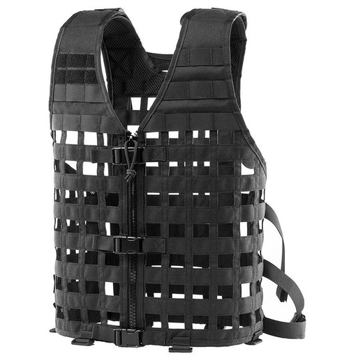 OneTigris Modular Tactical Airsoft Vest (Color: Black)