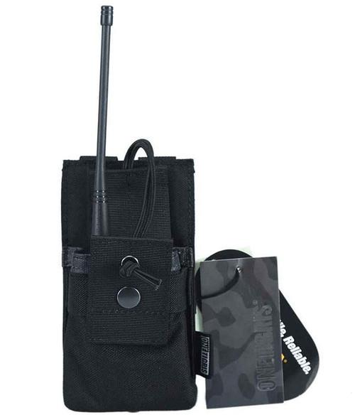 OneTigris Tactical Radio Holder (Color: Black)