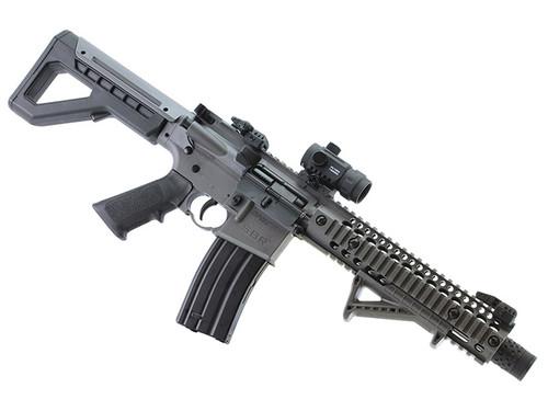 SBR Stealth Gray Rifle w/ Red Dot
