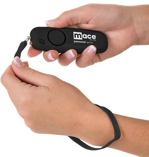 Personal Alarm Wristlet Black