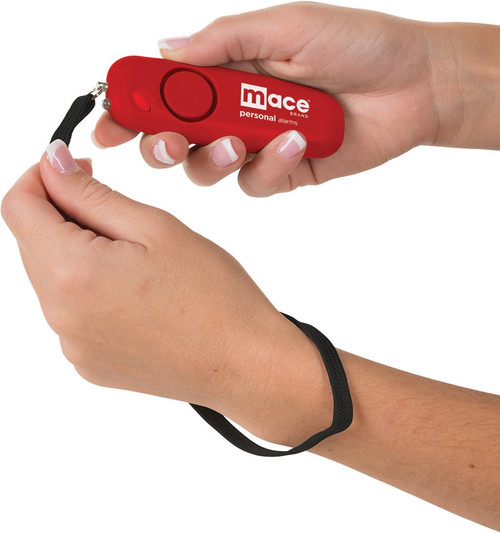 Personal Alarm Wristlet Red