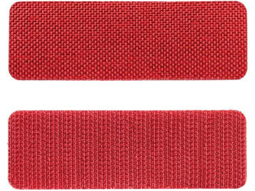 "5.11 Tactical WriteBar Hook & Loop Name Tape (Size: 3"" Red / 3 Pack)"