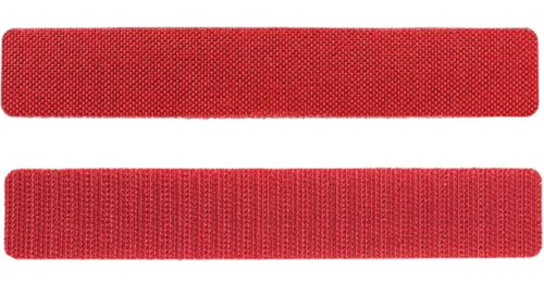 "5.11 Tactical WriteBar Hook & Loop Name Tape (Size: 6"" Red / 3 Pack)"