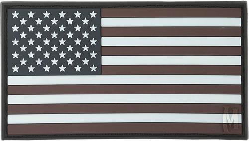 USA Flag Patch - GLOW