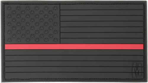 USA Flag Patch - Firefighter