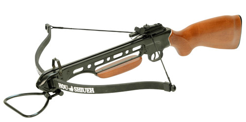 Man Kung 150 lbs Recurve Crossbow Wood Stock