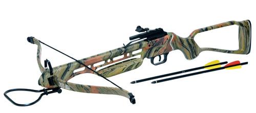 Man Kung 150 lbs Hunting Target Crossbow Camo