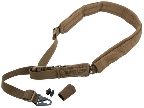 """TAGinn TAGsling """"Photo Master"""" Universal Camera Sling w/ Comfort Pad (Color: Coyote Brown)"""