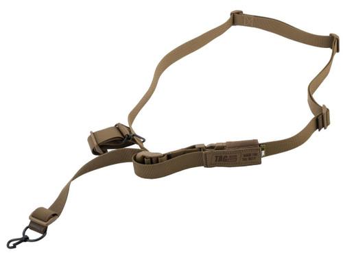 "TAGinn TAGsling ""Rush"" Universal Rifle Sling (Color: Coyote Brown)"