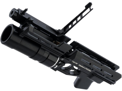 TAGinn TAG-015 CO2 Powered Grenade Launcher System for Airsoft AK Rifles