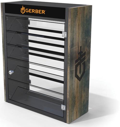 Display Wood Steel Counter