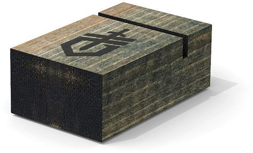 Single Knife Display Wood