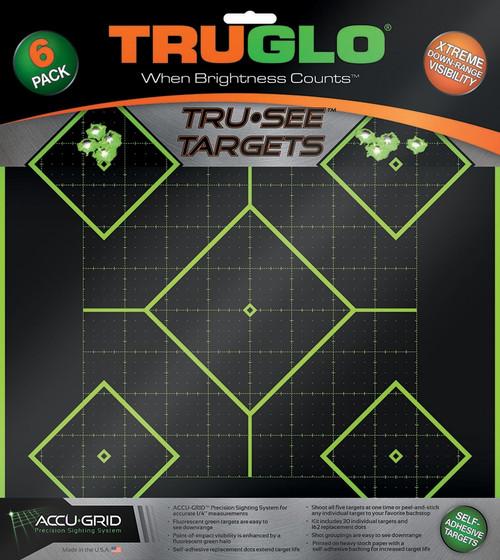 Tru-See Diamond Target 6pk