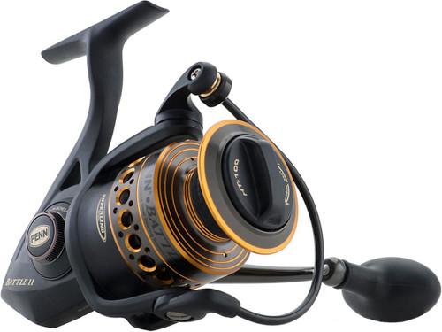Penn Battle II Ambidextrous Reversible Spinning Fishing Reel (Model: BTLII5000)