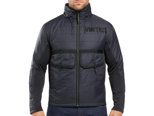 "Viktos ""ZERODARK"" Weather Resistant Insulated Jacket (Color: Nightfall / X-Large)"