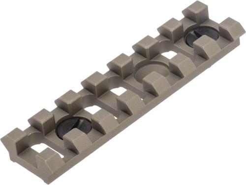 Raptor TWI B-2U Rail Piece for B-Series Modular AK Handguards (Color: Tan)