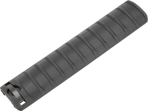 """Matrix Polymer Ribbed 6.5"""" Rail Cover Panel (Color: Black / One)"""