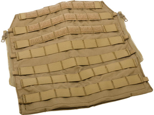 Crye Precision Licensed Replica Zip-on MOLLE Panel 2.0 by ZShot (Color: Coyote Brown / Medium)