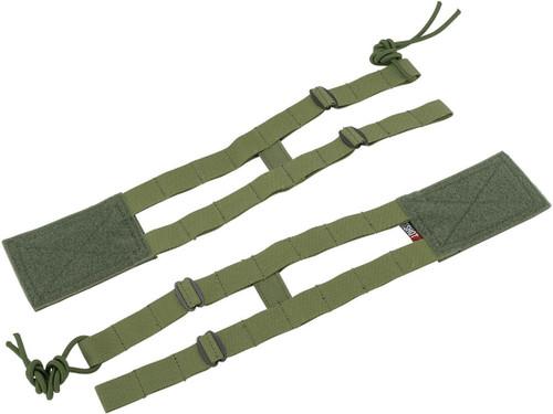 ZShot Crye Precision Licensed Replica AVS 2-Band Cummerbund (Color: Ranger Green / Large)