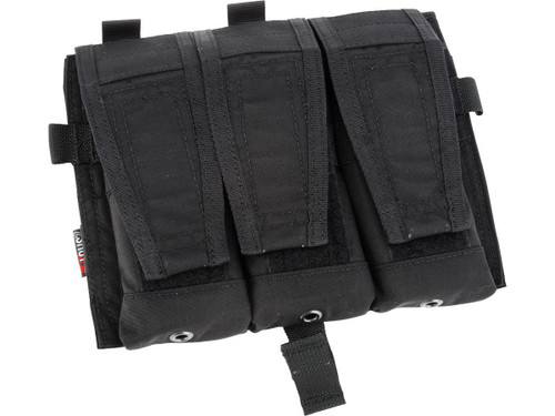 Crye Precision Licensed Replica AVS 5.56 Smart Pouch Front Flap by ZShot (Color: Black)