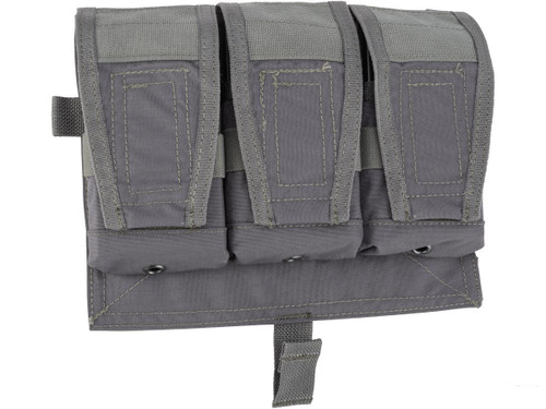 ZShot Crye Precision Licensed Replica AVS 7.62 Smart Pouch Front Flap (Color: Urban Grey)