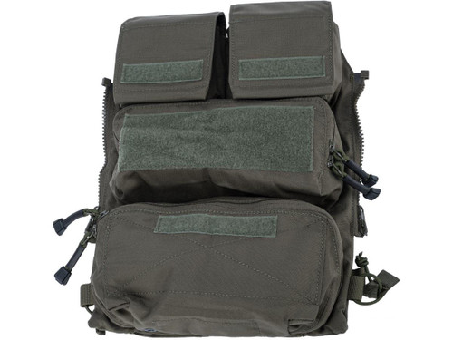 Crye Precision Licensed Replica Zip-on Pouch Panel 2.0 by ZShot (Color: Ranger Green / Large)