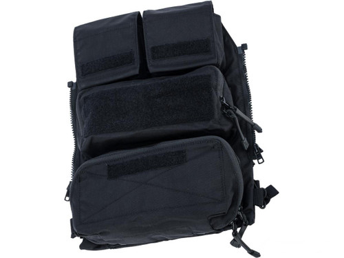 Crye Precision Licensed Replica Zip-on Pouch Panel 2.0 by ZShot (Color: Black / Large)