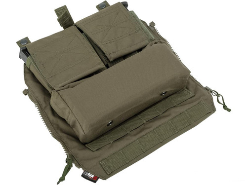 ZShot Crye Precision Licensed Replica Zip-on Pouch (Color: Ranger Green / Large)