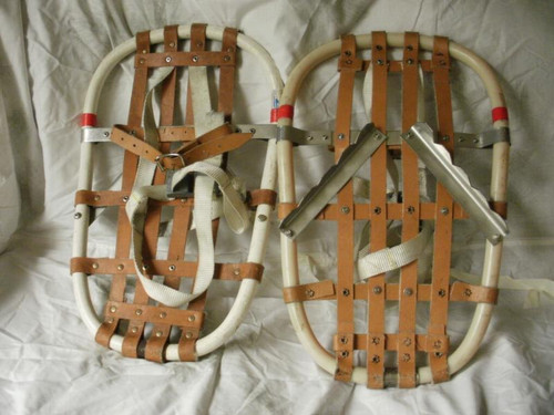 British Military Issue Bear Paw Snowshoes