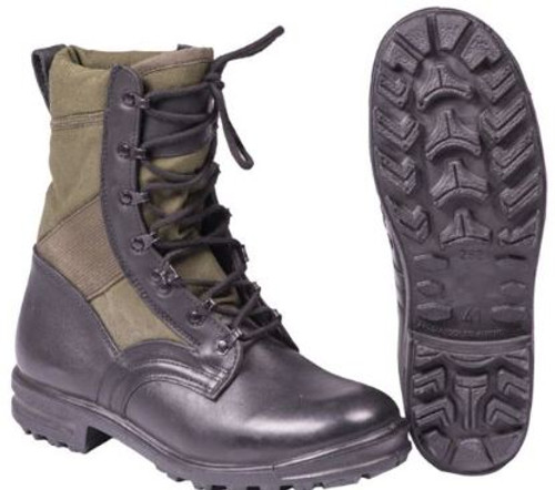 German Od Tropical Jungle Boots