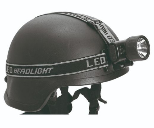 Mil-Tec Black 3+1 Led Headlamp
