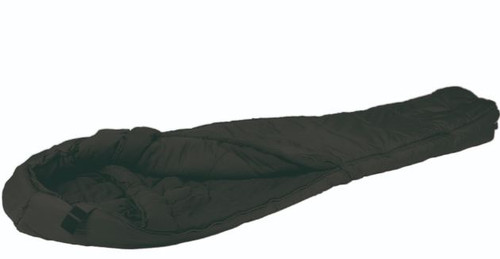 Mil-Tec Black 3D Hollowfiber Mummy Sleeping Bag