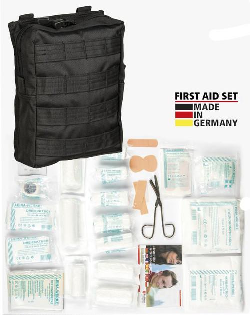 Mil-Tec Black 43-Pc. First-Aid Set