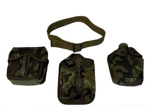 Czech Armed Forces M95 Camo 4-Pc. Harness Set