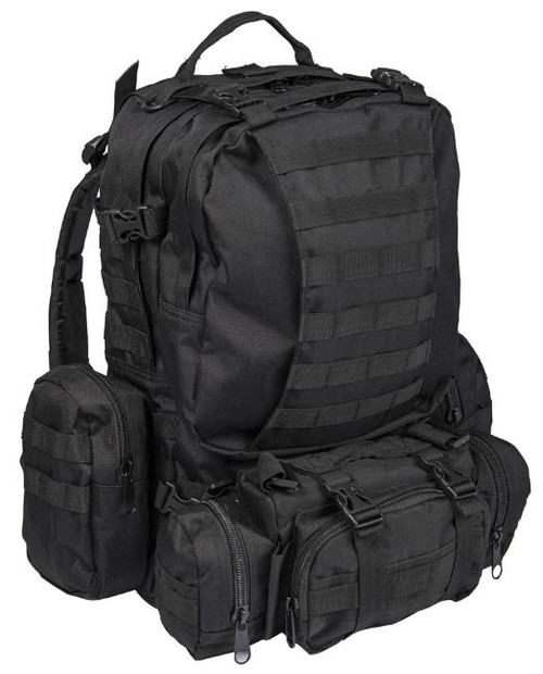 Mil-Tec Black Assembly Defense Pack