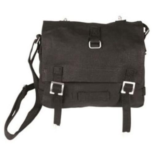 Mil-Tec Black Bread Bag W/Strap