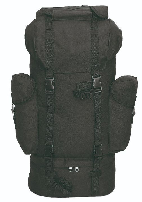 Mil-Tec Black Combat Rucksack