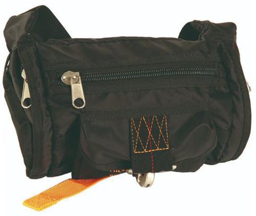 Mil-Tec Black Fanny Pack Deployment Bag
