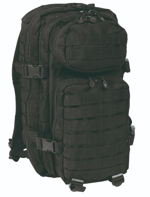 Mil-Tec Black Small Assault Pack