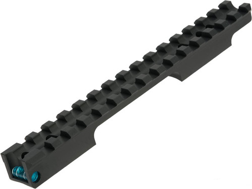 Maple Leaf Scope Rail with Bubble Level for VSR-10 Series Airsoft Sniper Rifles (Color: Blue)