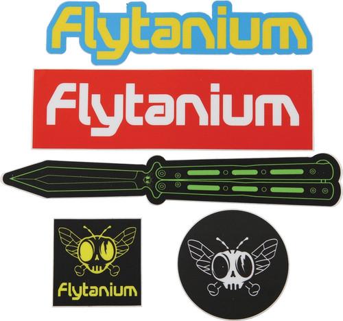 Flytanium Sticker Pack