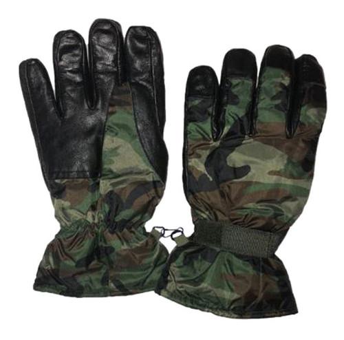 Nato Woodland Camo Gloves