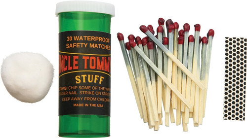 30 Waterproof Safety Matches