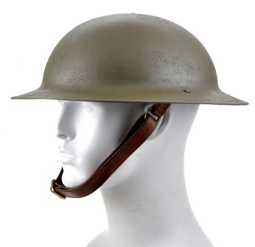 US M1917 Brodie Helmet Doughboy Helmet Factory Second