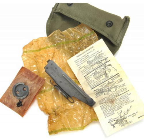 US WW2 M1 Garand M1 Carbine M15 grenade launcher Sight with Case New Unissued