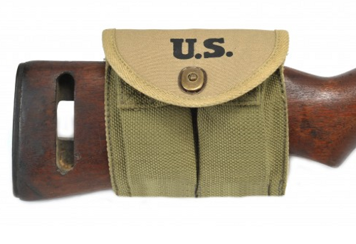 M1 Carbine Buttstock Type Pouch Transitional model Marked JT&L 1943