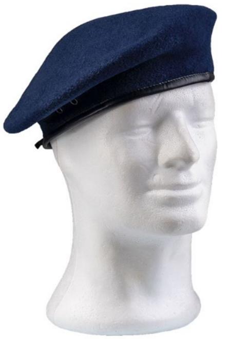 Czech Blue Beret