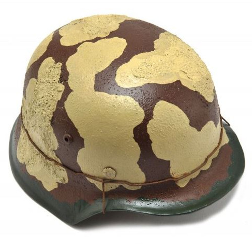 GERMAN WW2 M35 Wehrmacht helmet Desert camouflage Afrika Korps Italy Greece