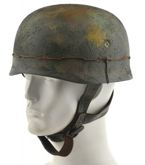 GERMAN WW2 PARATROOPER M38 FALLSCHIRMJAGER HELMET Multi color Camouflage with texture wire Normandy